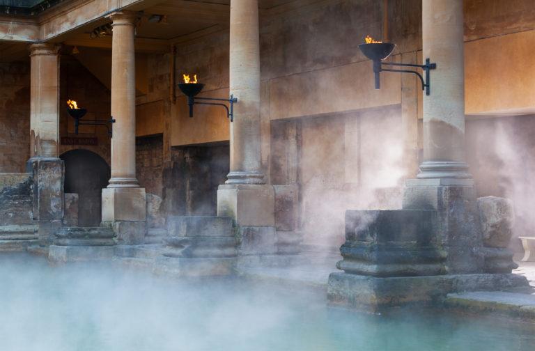 Altes römisches Dampfbad