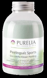 Flasche PURELIA Peeling Salz Vanille 650g