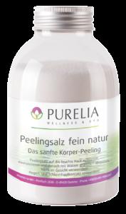 Flasche PURELIA Peeling Salz fein natur 650g